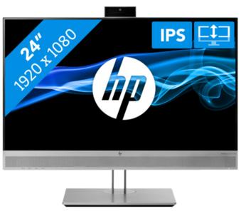 "HP EliteDisplay E243m   24"" F-HD 1920x1080   Webcam DisplayPort, HDMI, VGA, USB 3.0, DisplayPort, HDMI, VGA, USB 3.0,"